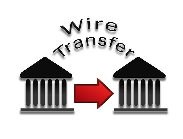 platba bankovní převod